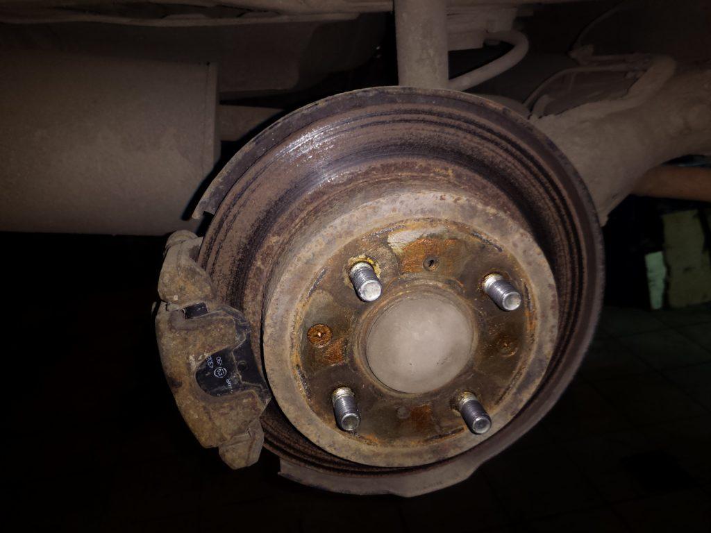 Сгнивший тормозной диск