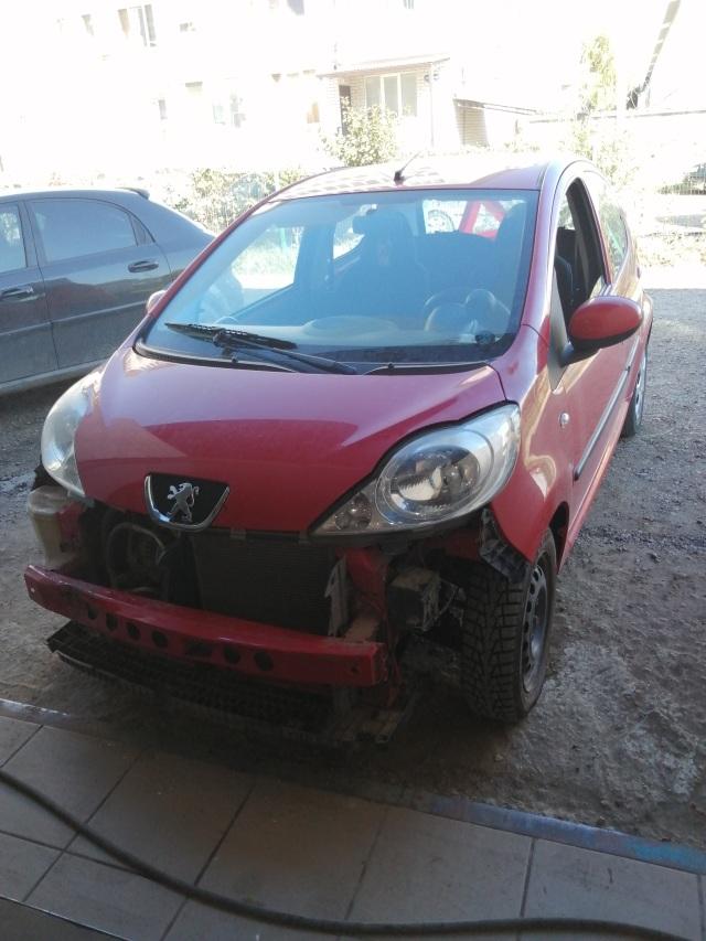 Ремонт робота РКПП Peugeot107