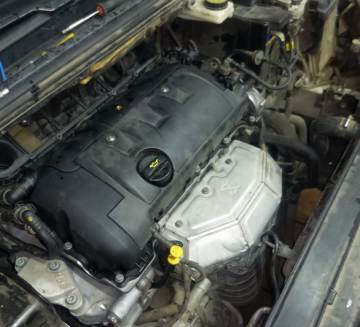 двигатель EP6c после сборки Peugeot 308