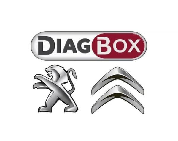DiagBox Диагностика Peugeot Citroen в Краснодаре