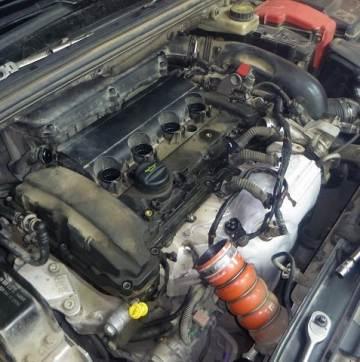 двигатель Ep6cdt на peugeot 408