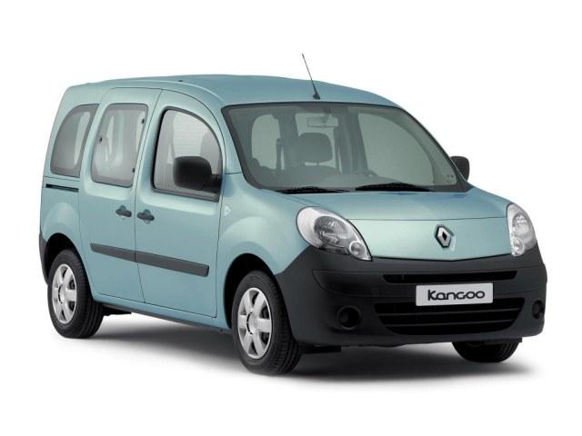 Renault Kangoo второе поколение