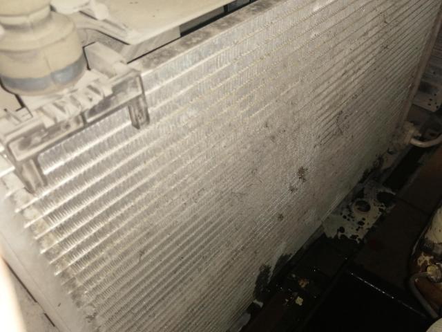 Радиатор кондиционера до мойки