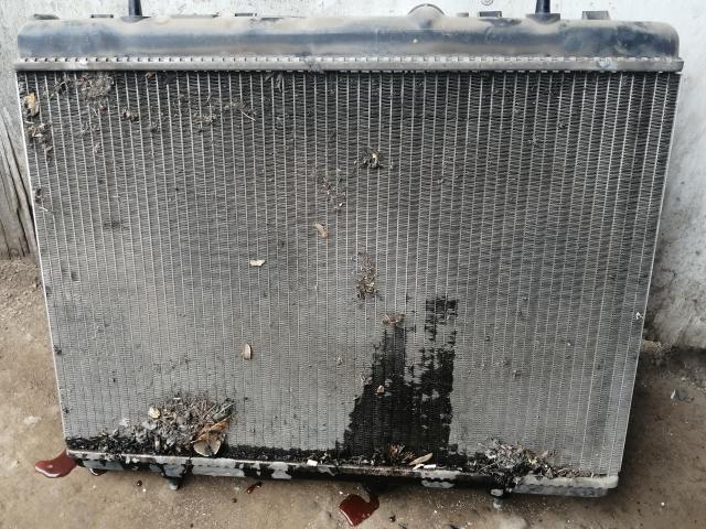 Радиатор ситроен с4 основной до мойки