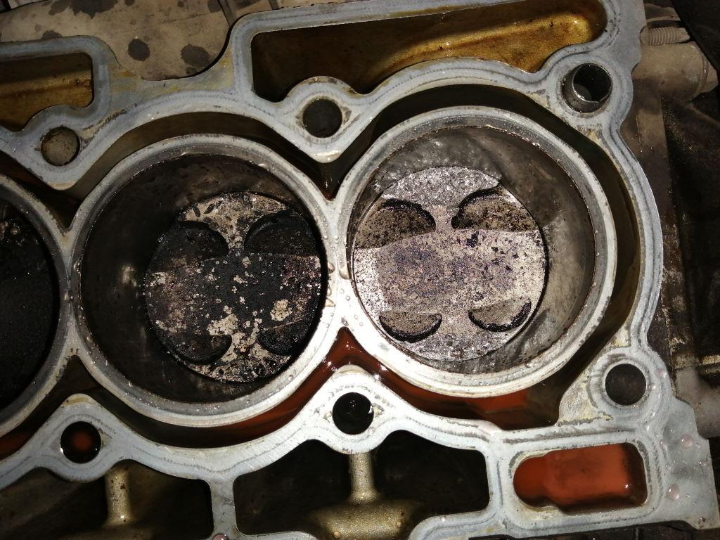 EP6 308 побитые поршни 3й 4й цилиндр Краснодар