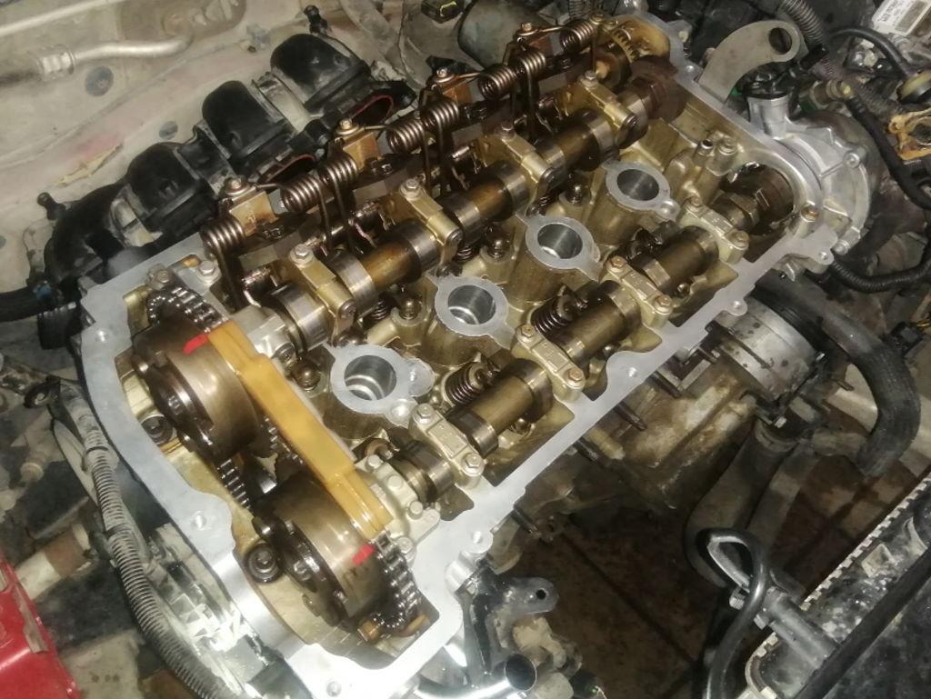 мотор после сборки EP6 308 Краснодар