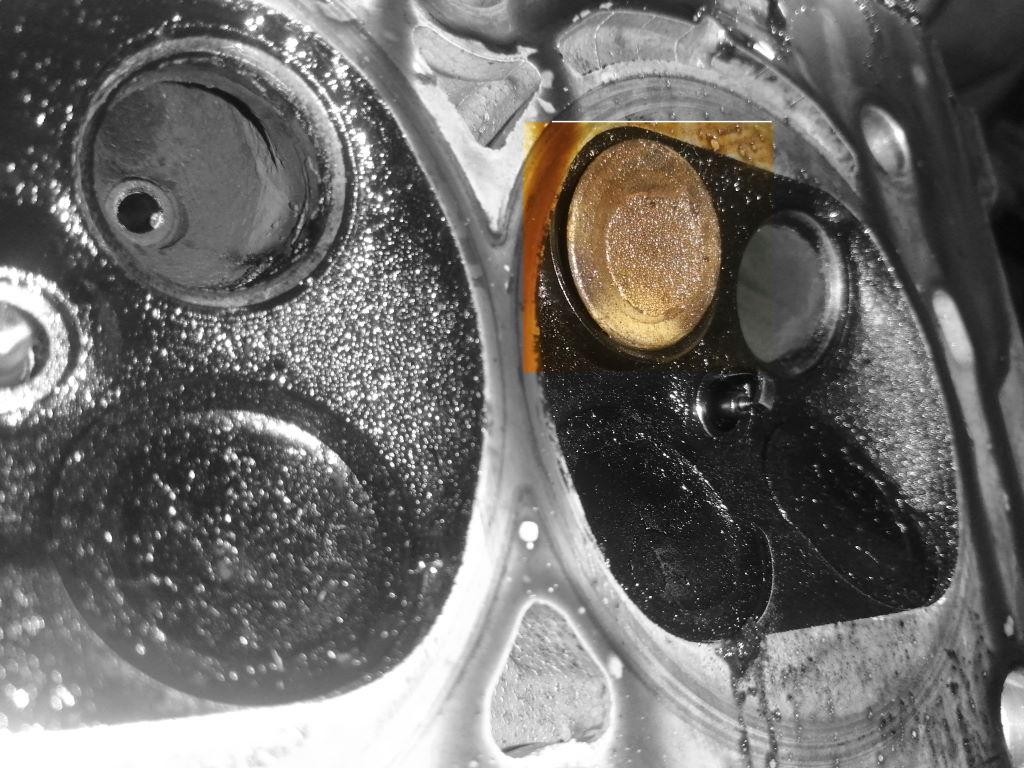 выпадающее выпускное седло 4го цилиндра ep6 Краснодар